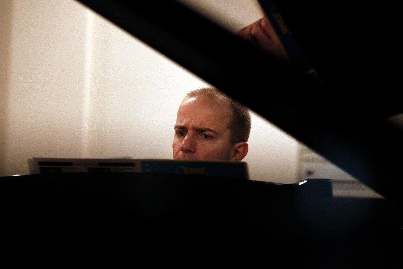 Julien au piano